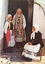 B22905 ethnic folklore costume types romania women from sibiu