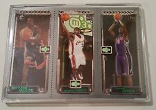 2003-04 TOPPS MATRIX ROOKIE MINI LEBRON JAMES , CHRIS BOSH, DWYANE WADE #WJB