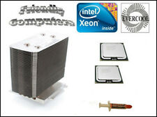 DELL PowerEdge 1900/2900 Matched Pair Dual Core 3.7GHz Xeon CPU Kit + Heat Sink