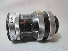 KERN SWITAR 1.9/13MM D-MOUNT LENS FOR BOLEX 8MM MOVIE CAMERA