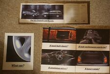 FORD GRANADA AND SCORPIO FOLD-OUT BROCHURE / LEAFLET