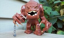 "Custom Star Wars Rancor 4.5"" Jabba's Pet Creature Minifigure + Lego Brick"