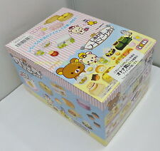 "Dollhouse Miniatures San-X Rilakkuma Relax ""Happy Food Market"" Box Set - Re-ment"