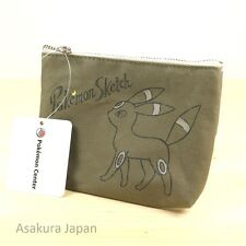 Pokemon Center Original Pokémon Sketch Tissue pouch case Umbreon From Japan