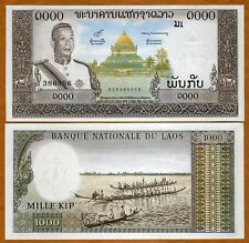Lao / Laos, Kingdom, 1000 Kip, ND (1963), P-14 (14b), UNC