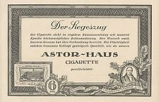 Y4677 Sigarette Astor-Haus - Waldorf Astoria - Pubblicità d'epoca - 1927 Old ad