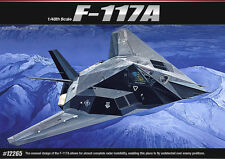 Academy 12265 F-117A 1/48 Plastic Model Kit Aircraft Jet Fighter Toy