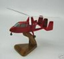 U-18 Umbaugh Gyroplane Airplane Desktop Wood Model Small