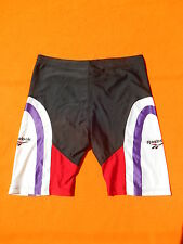 REEBOK Cuissard Collant Athletic Short Sprinter Made in UK Vintage Running Track
