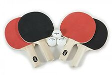 Stiga Classic 4-Player Table Tennis Racket Set, New, Free Shipping