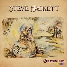 STEVE HACKETT '5 CLASSIC ALBUMS' (Best Of) 5 CD SET (2016)