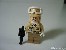 LEGO STAR WARS / Minifigures SW425 - Hoth Rebel Trooper ( Set 9509 )
