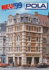 Prospekt Pola Modelleisenbahn 1999 brochure model railway prospectus (D)