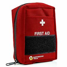 First Aid Kit - Car, Survival, Camping, Hiking, Travel, Emergencies - 65 Pieces