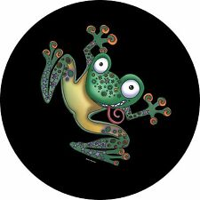 Flippin Frog spare tire cover for Jeep, RV, Camper & More(all sizes available)