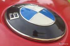Genuine BMW Metal Hood Emblem Roundel E36 328i 328is Z3 M Coupe & M Roadster