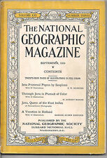 national geographic-SEPT 1929-THROUGH JAVA IN PURSUIT OF COLOR.