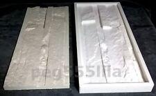 Silikonform 50 cm x 20 cm, Schieferstruktur Gießform Verblender Klinker