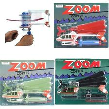 (LOT OF 12X) Zoom Copter Air Flying Sky Helicopter Fly Back Capabilit Over 100ft