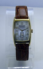 Hamilton Cabot 18K Gold Plated Man's Registered Edition Wristwatch