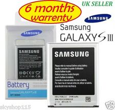 New GENUINE Replacement Battery for SAMSUNG GALAXY S3 III GT-i9300 2100mAh
