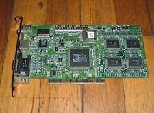 PCI card ATI 109-37900-00 3D Rage II 1023790600 S-Video VGA Composite Out