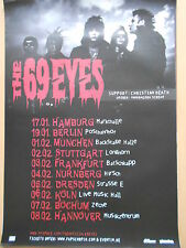 THE 69 EYES 2010 TOUR   orig.Concert-Konzert-Tour-Poster-Plakat DIN A1