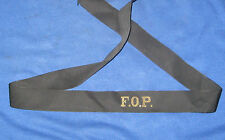 Vintage Royal Navy F.O.P. Cap Tally
