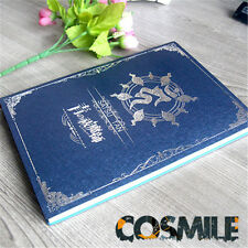 Ao no Exorcist Blue Exorcist Okumura Rin Notebook Book Spellbook Cosplay Sa