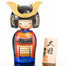 Samurai General Japanese Kokeshi Doll
