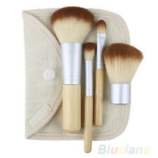Hot Sale 5pcs Professional Bamboo Makeup Brush Set Make Up Brushes BD10A