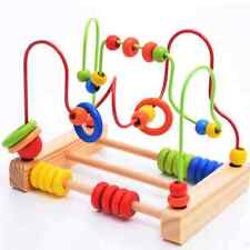 Wire Maze Educational Learning Around Beads Toy Childhood Wooden Good Fshion