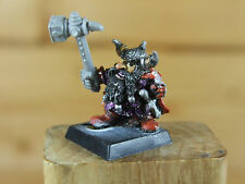 CLASSIC METAL ORIGINAL WHITE DWARF WITH CONVERTED HAND + WEAPON PAINTED (3173)
