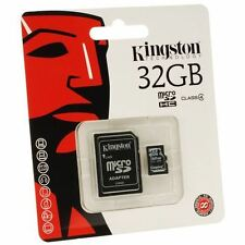 Kingston Memory Memoria Micro SD Microsd 32 gb Kingston SDHC Classe 4 10 Samsung