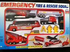 Emergency Fire & Rescue Squad - Battery Operated Remote Control New!