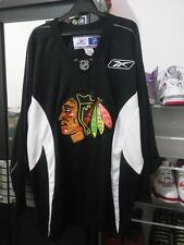 Chicago Blackhawks Black Jersey NHL Reebok Authentic XL - Vintage