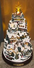 THOMAS KINKADE SONGS OF THE SEASONS CHRISTMAS TREE MUSICAL & LIGHTED