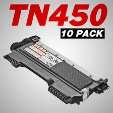 10pk GENERIC TN450 Toner For HL-2250DN Intellifax 2840 MFC-7365DN MFC-7460DN