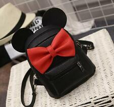 FL48 travel Womens Mickey PU leather Backpack shoulder School lovely small Bag