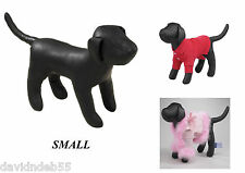 SM PREMIUM DOG MANNEQUIN Stuffed Display Model Manequin Clothing Apparel Collar
