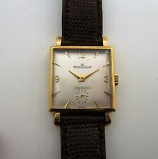 JAEGER LECOULTRE 18K SOLID GOLD MANUAL WINDING CAL.417 FROM THE 50's C89P1