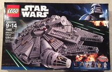 "LEGO Star Wars 7965 Millennium Falcon New In Box Released 2011 ""RETIRED"""