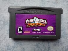 POWER RANGERS NINJA STORM - NINTENDO GAME BOY ADVANCE GBA e DS NDS - NTSC USA