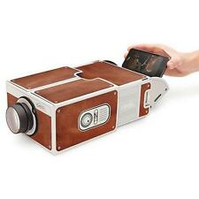 Cardboard Smartphone Projector 2.0 DIY FOR Mobile CELL Phone Portable Movie
