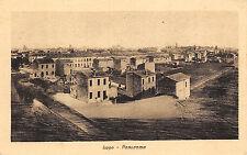 408) LUGO (RAVENNA) PANORAMA. VIAGGIATA.