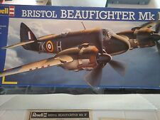 BRISTOL BEAUFIGHTER MK IF 1/32 SCALE REVELL MODEL, LIMITED EDITION
