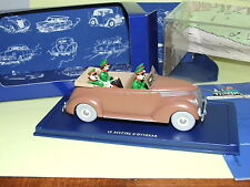 VOITURE TINTIN N°34 FORD V8 DECAPOTABLE SPECTRE D'OTTOCKAR  ATLAS