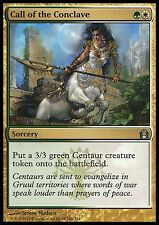 Call of the Conclave  EX/NM  x4 Return to Ravnica MTG Magic Cards Gold Uncommon