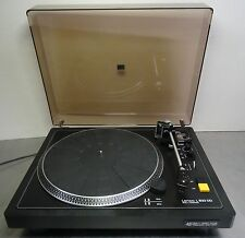 VINTAGE Hi-Fi direct drive turntable Lenco L 833 DD manualmente giradischi