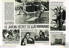 Coupure de presse Clipping 1980 (2 pages) Luis Mariano